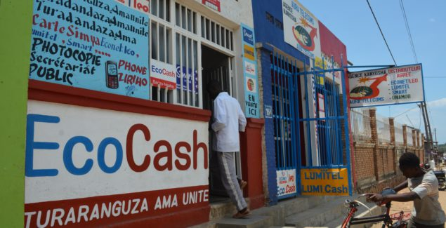 Eco Cash is a mobile financial transaction service offered by the telephone operator Econet-Leo