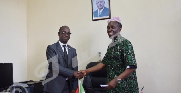 Former CNC chairman Ramadhan Karenga (left) replaced by Nestor Bankumukunzi