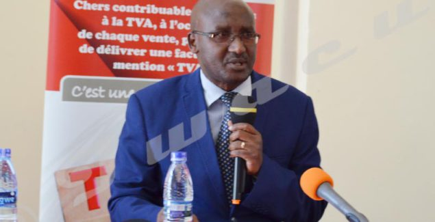 "Léopold Kabura: ""We expect much from media professionals' contribution to the increase in tax collection""."